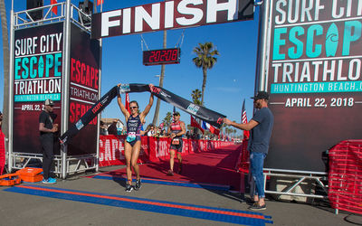 Jason West And Sophie Chase Win Inaugural Surf City Escape