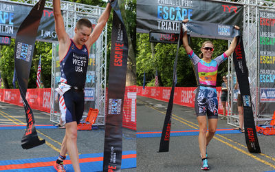 Philadelphia Area Native Jason West Wins 2017 Philadelphia Escape Triathlon™