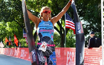 Jason West And Sarah Haskins Win 2017 Nation's Triathlon